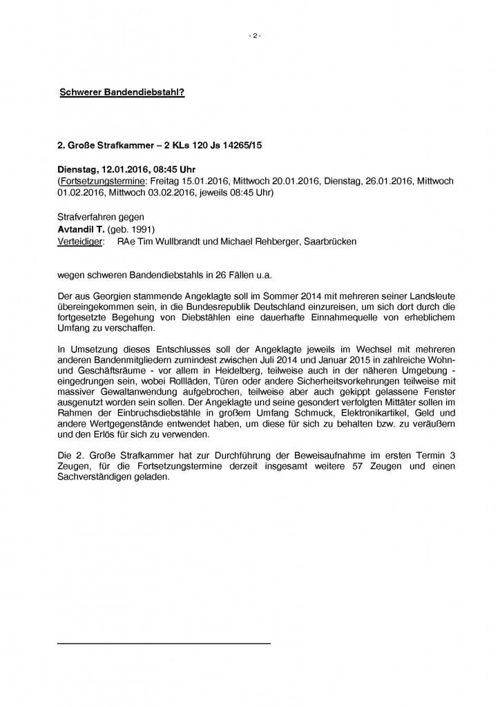 Pressemitteilung Landgericht Heidelberg - RA Wullbrandt